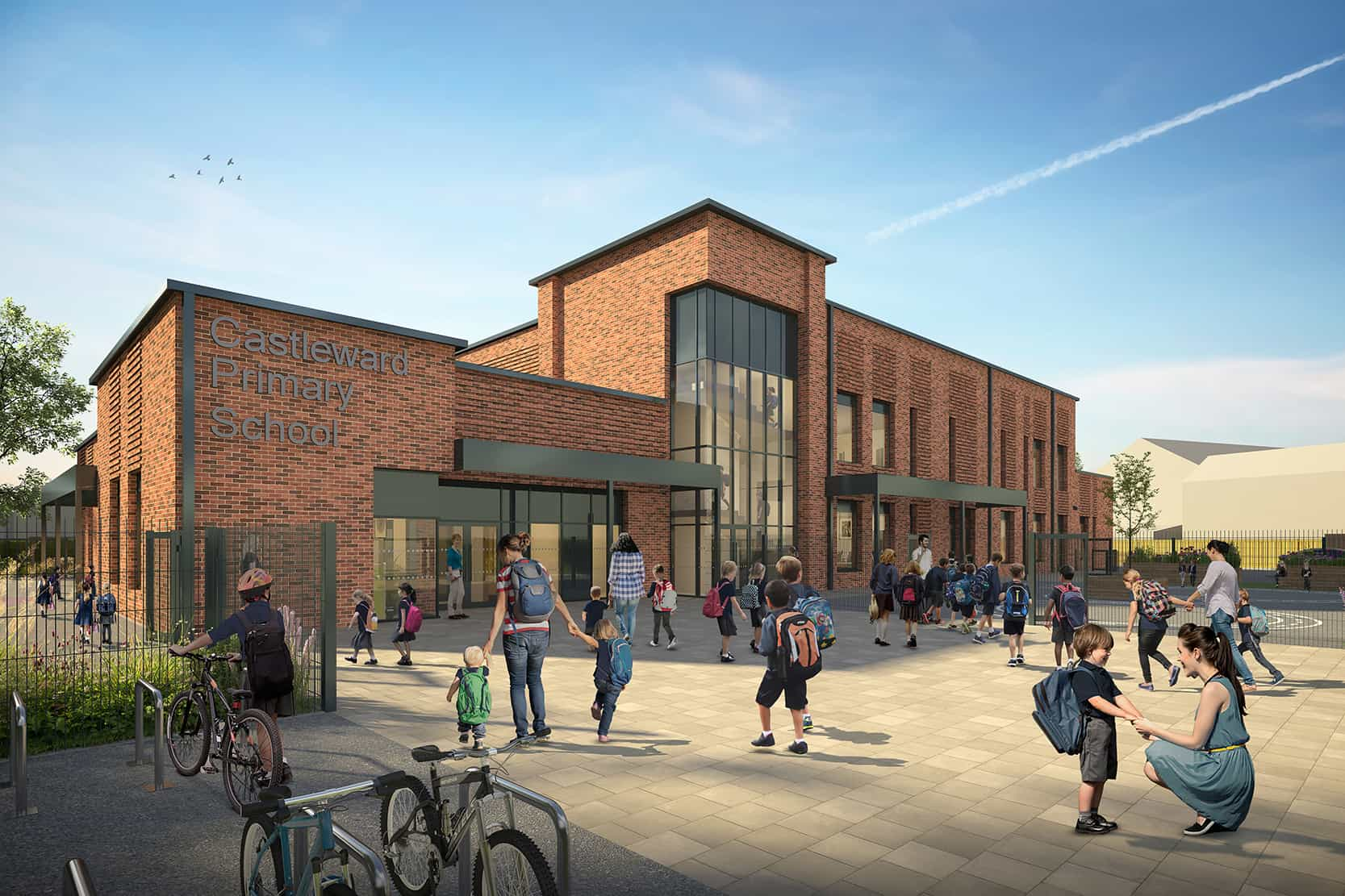 Castleward Primary School CGI